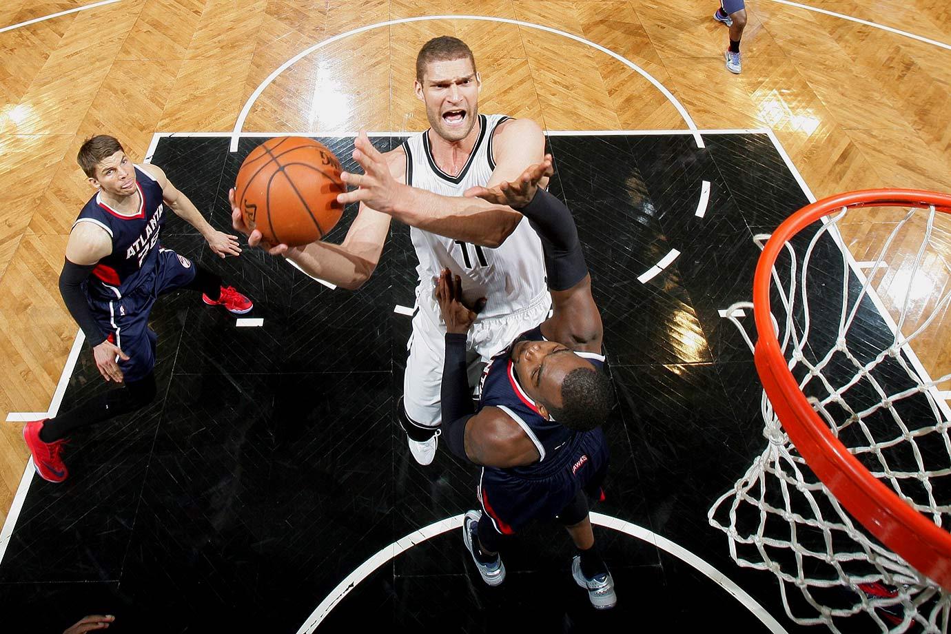 Nets | Center | Last year: 36