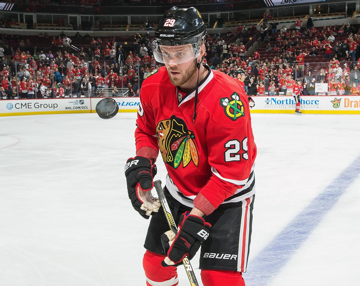 Bickell's Cinderella success story during Chicago's 2013 Stanley Cup run earned him a four-year, $16 million deal. That contract is more than reasonable if he is a top-six winger for the Hawks, but not so much for a guy skating with the Rockford Ice Hogs. Bickell's struggles at the NHL level led to him being waived and later demoted to the AHL, and while he's had some success there—nine points in 10 games—his inability to contribute in Chicago makes him a painful drain on the Blackhawks' cap. Coach Joel Quenneville has been complimentary of Bickell's work in the minors, suggesting he may get another shot at the show before long, but it's hard to imagine him living up to his paper.