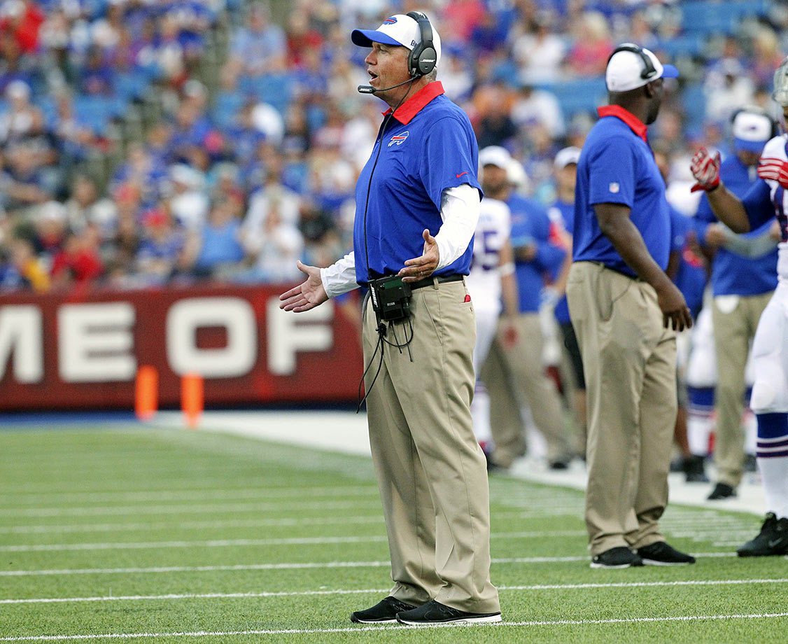 Rex Ryan takes over the reins in Buffalo, but he inherits a quarterback position that is nearly as bad as the one he had with the Jets. Former Ravens QB Tyrod Taylor might be the short-term answer, but he's not named Russell Wilson, and running quarterbacks don't lead teams to Super Bowl wins.