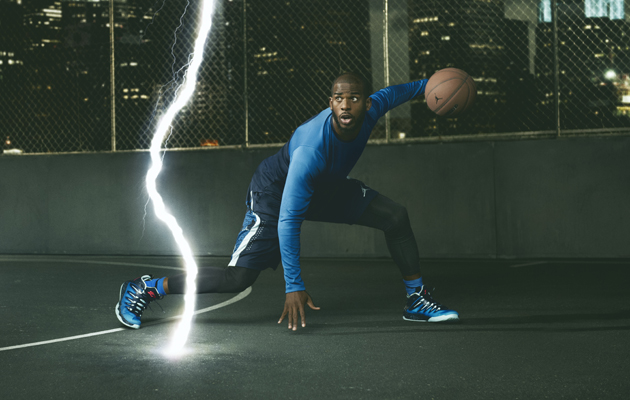 ea68298577b7b1 Jordan Brand unites Chris Paul and yellow dragons in new sneaker ...