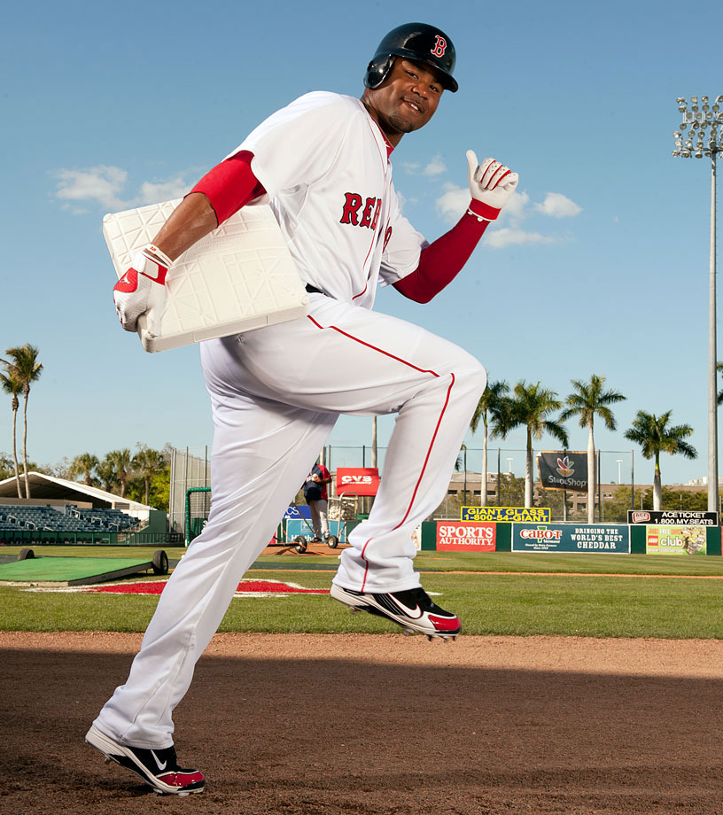 Just days after trading for star slugger Adrian Gonzalez, the Red Sox landed four-time All-Star outfielder Carl Crawford, weakening the division-rival Tampa Bay Rays and bolstering their own title chances in the process. Crawford was a true five-tool player, having won a Gold Glove, batted .300 five times, stolen 45 or more bases seven times and hit double-digit home runs six times.