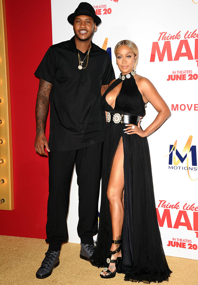 The New York Knicks forward and the former MTV VJ began dating in 2004 and were married on July 10, 2010. The two have a son, Kiyan Carmelo Anthony (born March 7, 2007).