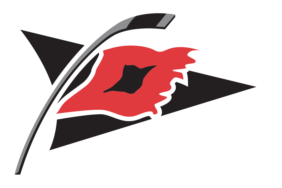 If owning the worst of the league's current primary logos wasn't achievement enough for the 'Canes then here's a nod for the worst alternate as well. It's supposed to represent a hurricane warning. Problem is, a hurricane warning features two flags. It's not just ugly. It's factually inaccurate.