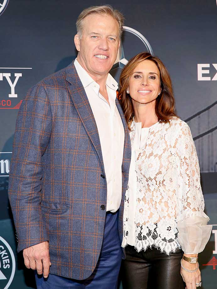 John Elway and Paige Green :: ESPN The Party