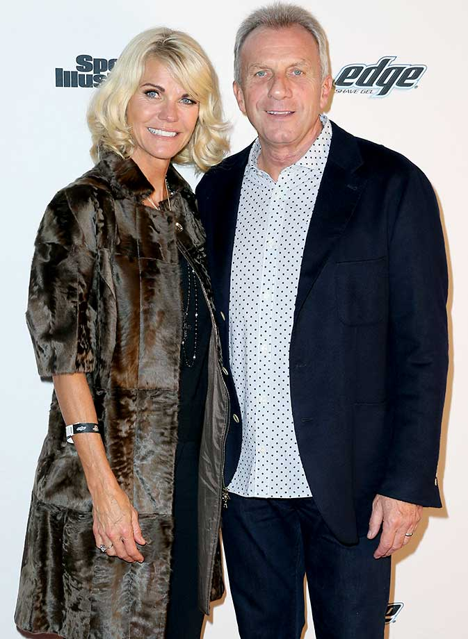 Joe Montana and Jennifer Montana :: Sports Illustrated Experience