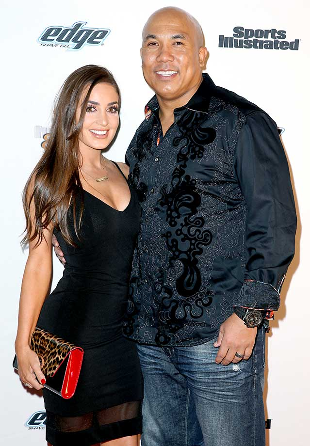 Hines Ward and Lindsey Georgalas-Ward :: Sports Illustrated Experience