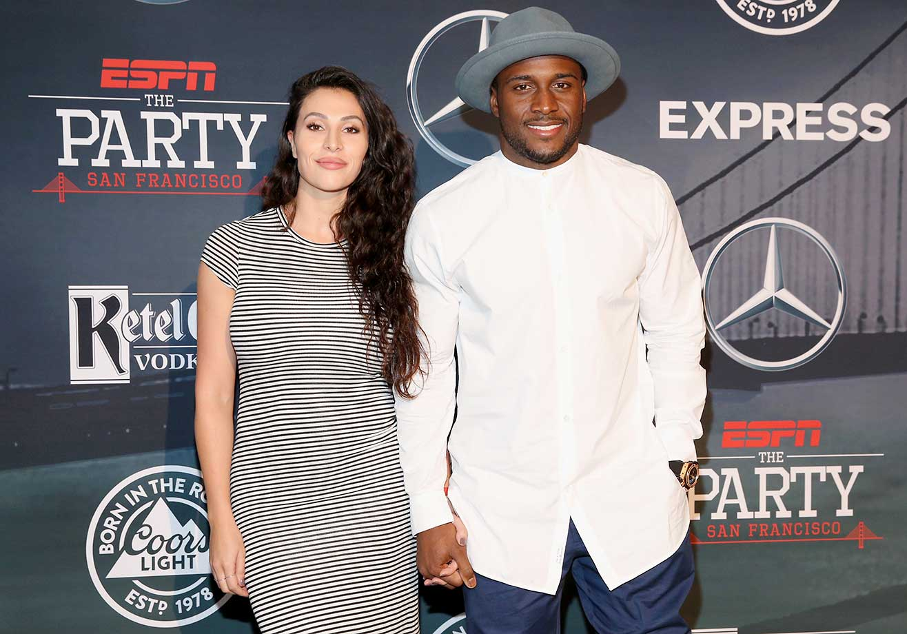 Dancer Lilit Avagyan and Reggie Bush:: ESPN The Party