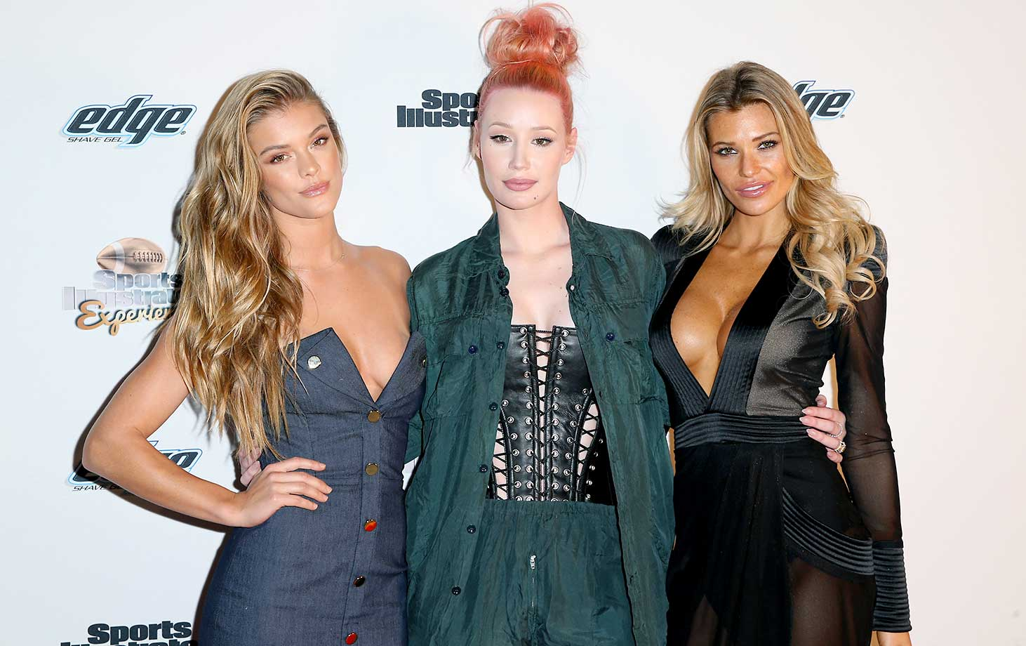 Nina Agdal, rapper Iggy Azalea, and model Samantha Hoopes :: Sports Illustrated Experience