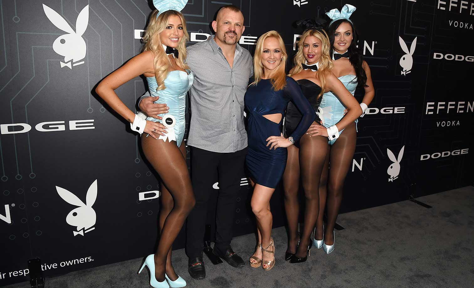 Monica Sims, Chuck Liddell, Heidi Northcott, Heather Rae Young and Alexandra Tyler :: The Playboy Party