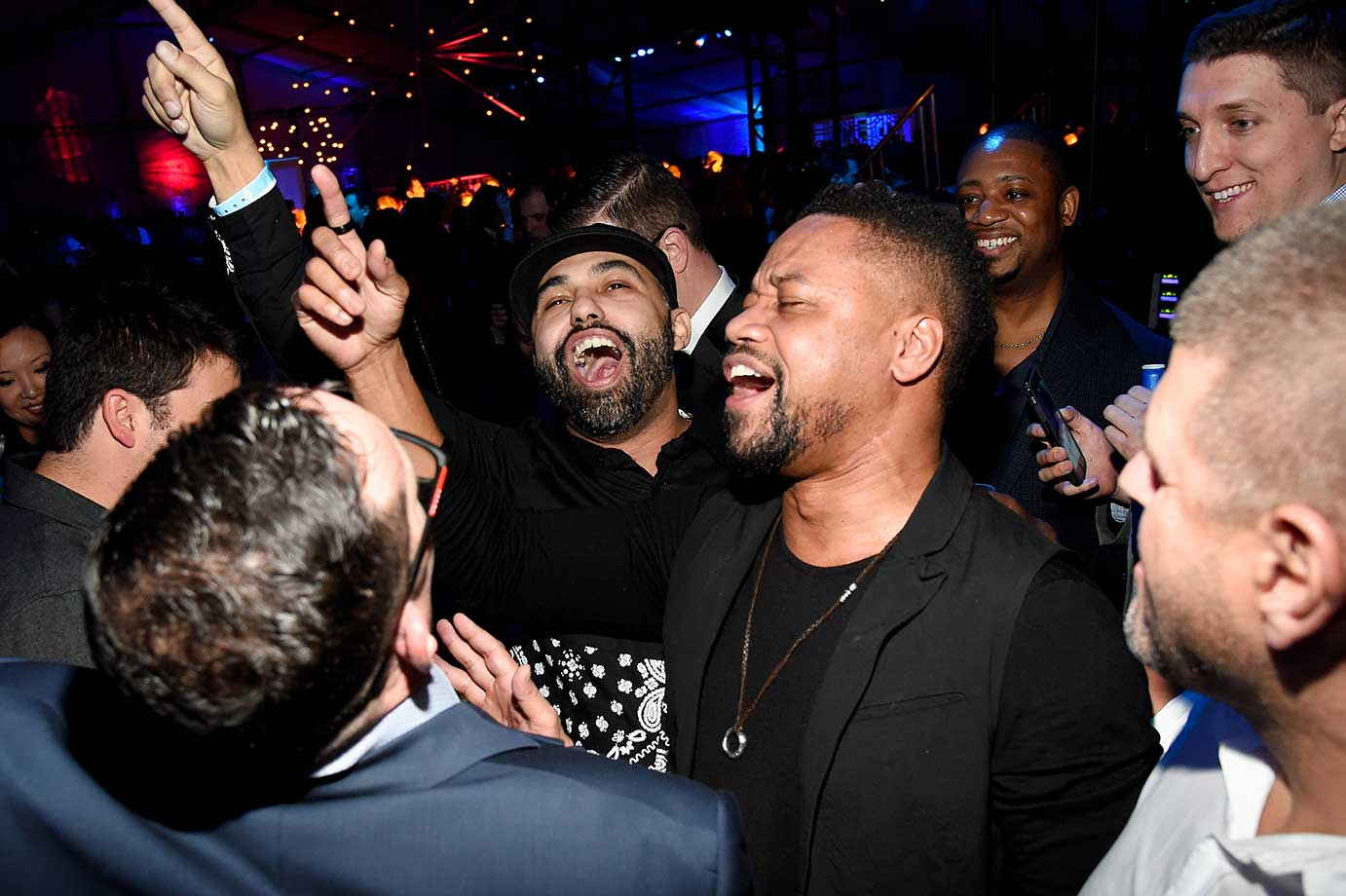 Cuba Gooding Jr. :: Playboy Party