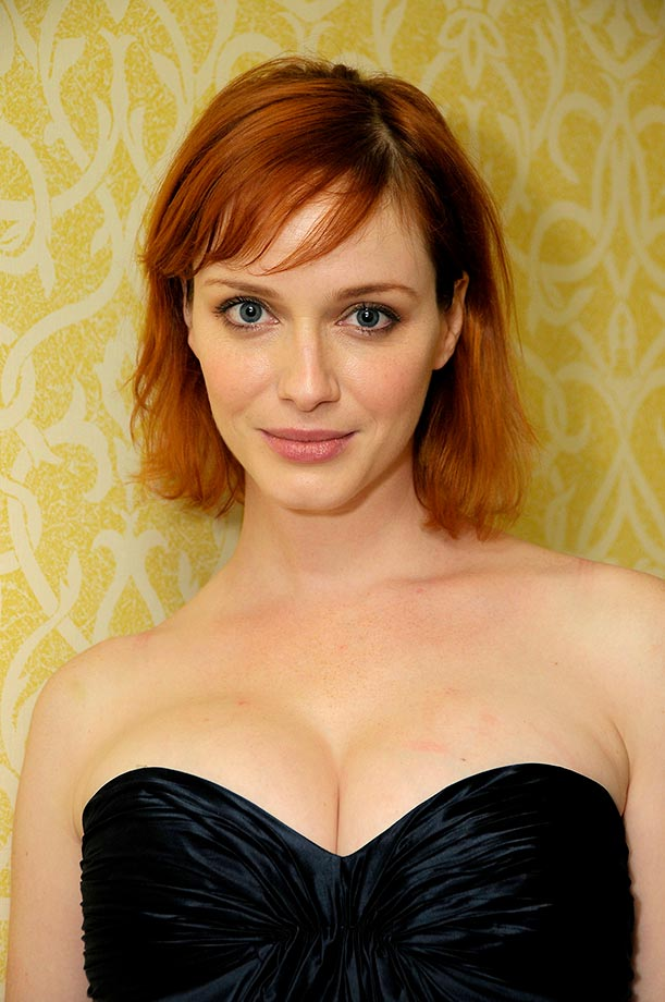 Christina Hendricks Lovely Lady Of The Day Si Com