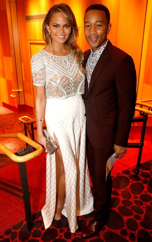 Christy Tiegen and John Legend