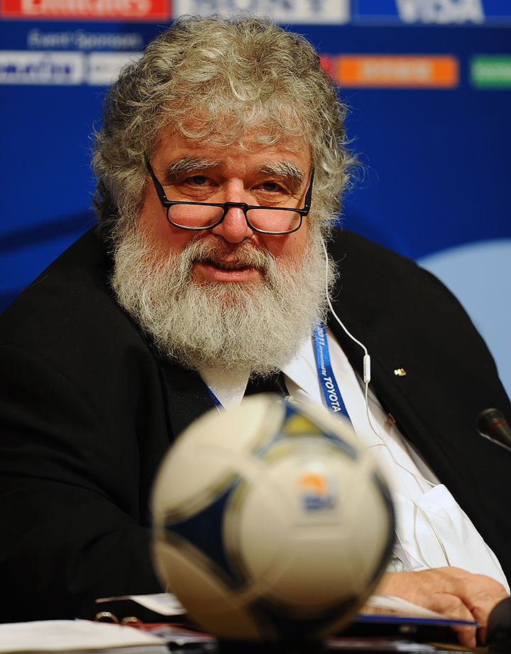 Blazer, the former FIFA Executive Committee member most famous for buying a luxury apartment just for his cats, is the guy that set the whole FIFA mess in motion by snitching on all his buddies. Sure, his testimony was unsealed and made public, but he got off without jail time.