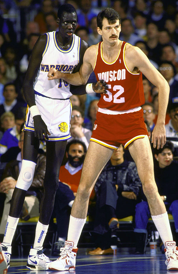 Nevitt is the tallest NBA champion in history, winning his title as a member of the Los Angeles Lakers in 1985. He also played for the Rockets, Pistons, Bulls and one game with the Spurs.