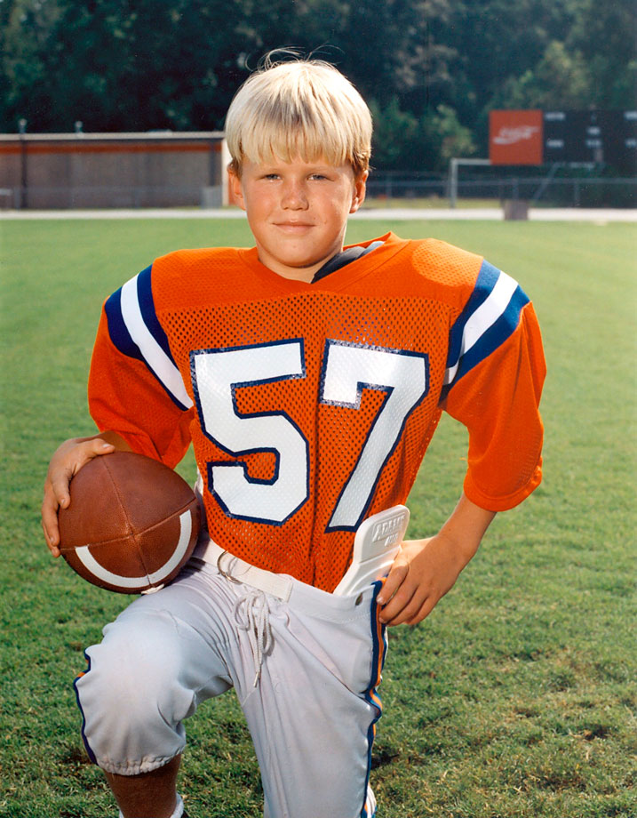 NFL Players as Youth Football Players  SI.com