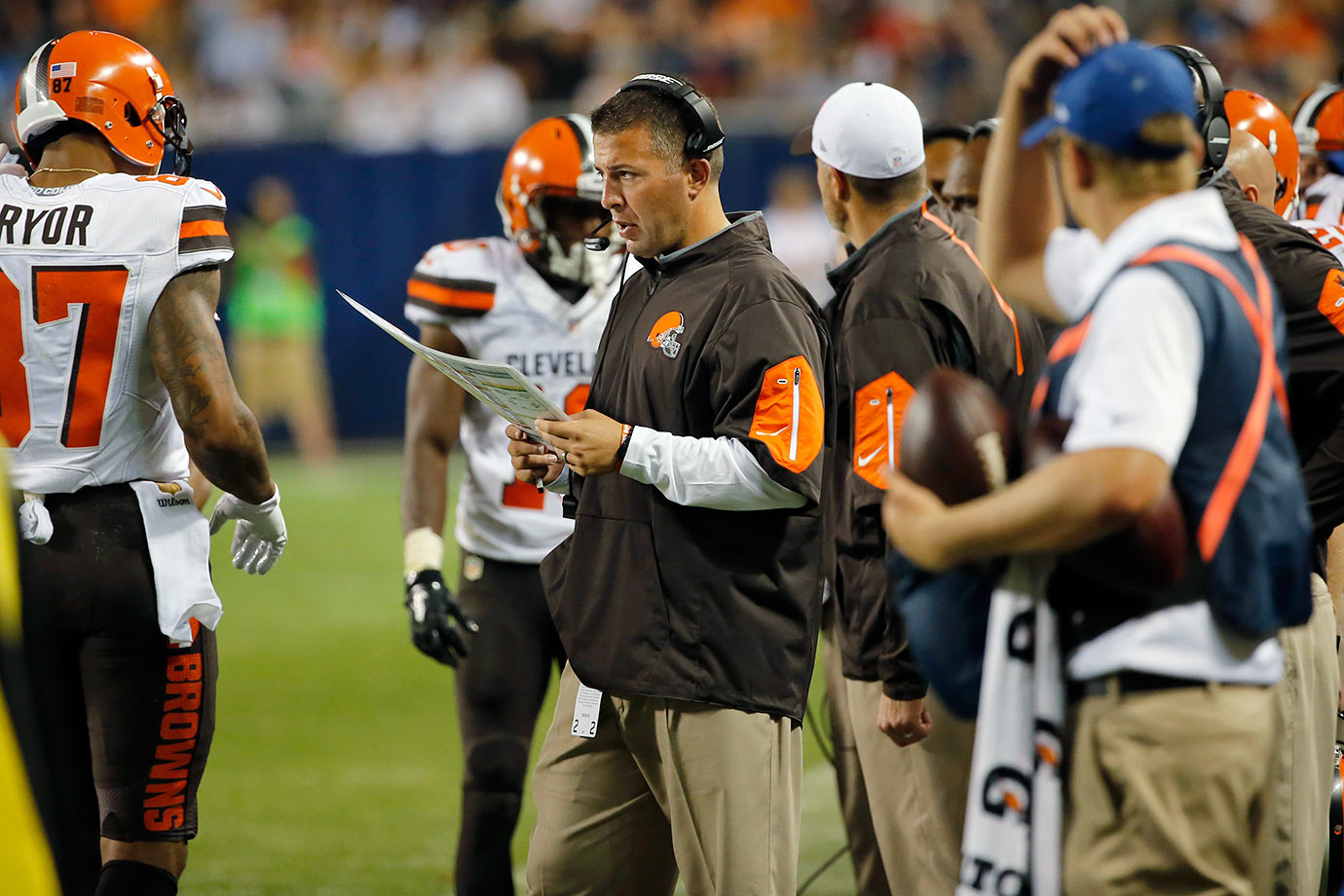 In 11 of the past 12 seasons, the Browns offense has ranked 24th or worse. But don't worry – they brought in John DeFilippo as their new offensive coordinator. Then again, he's the sixth Browns offensive coordinator to hold that title over the past six years. Just one away from being the Lucky No. 7!