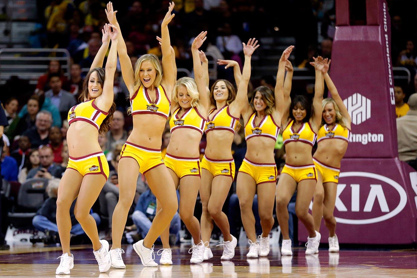 pretty nice 10274 f9e41 Cleveland Cavalier Girls   SI.com