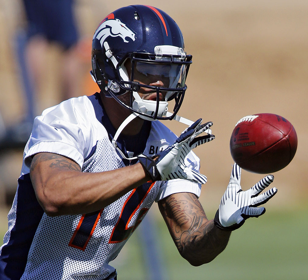 Cody Latimer was drafted in the second round of the 2014 Draft by the Denver Broncos to help replace the loss of Eric Decker.  He didn't exactly have awe-inspiring numbers at Indiana, but he can use training camp to show why basing opinions purely off of collegiate performance is a bad.