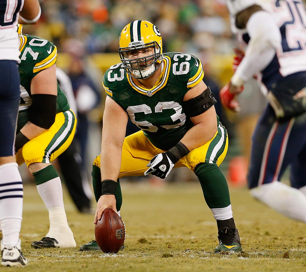 Linsley acquitted himself very well in his first NFL start, which just happened to be at Seattle in the 2014 season opener. He went on to allow just two sacks in 1,216 total snaps and help                           pave the way for a rebirth in Green Bay's running game.