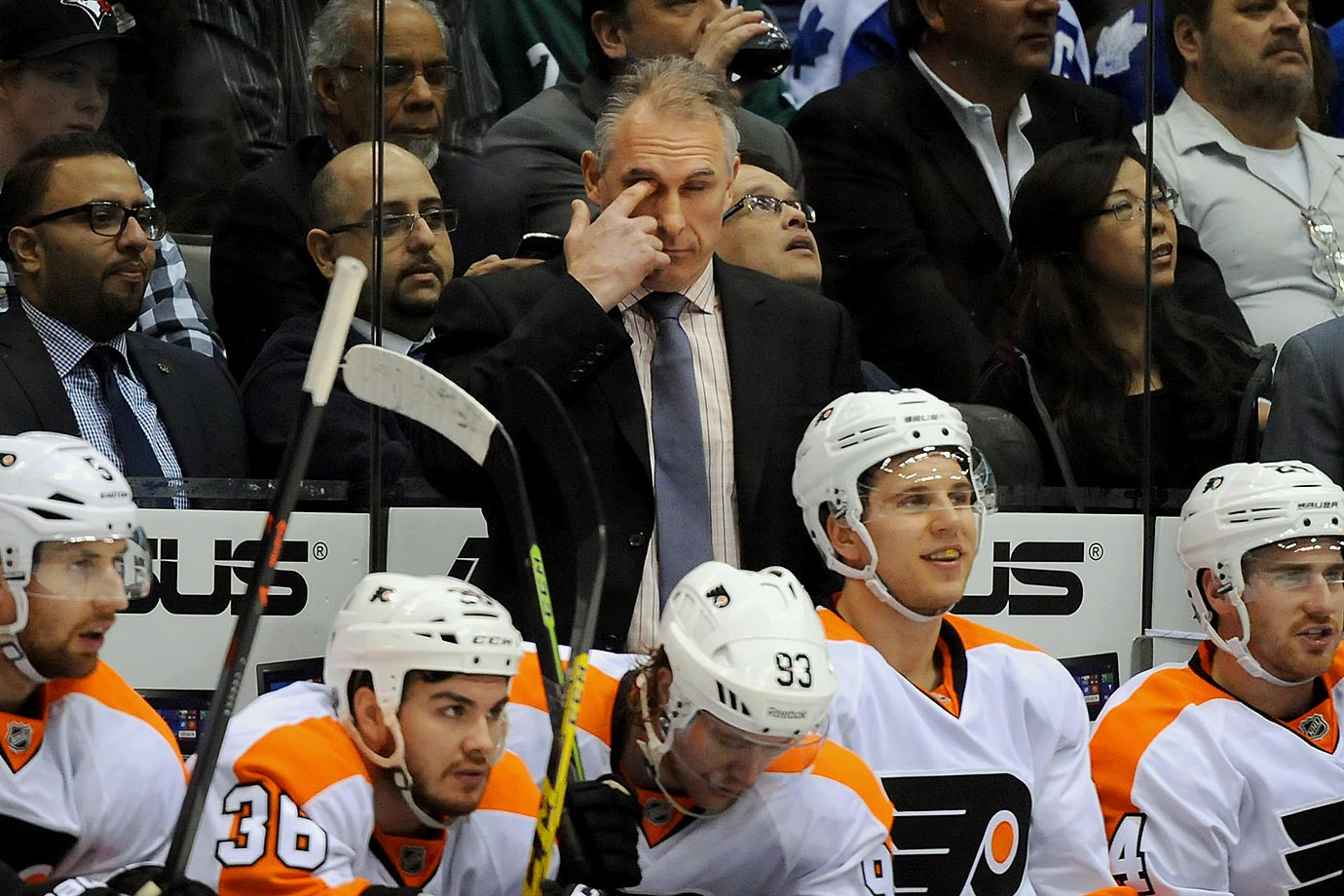 One surprising scrappy playoff run, one disappointing campaign at the bottom of the Metropolitan Division standings. That's all it took to bring Craig Berube's time coaching the Philadelphia Flyers to a close.