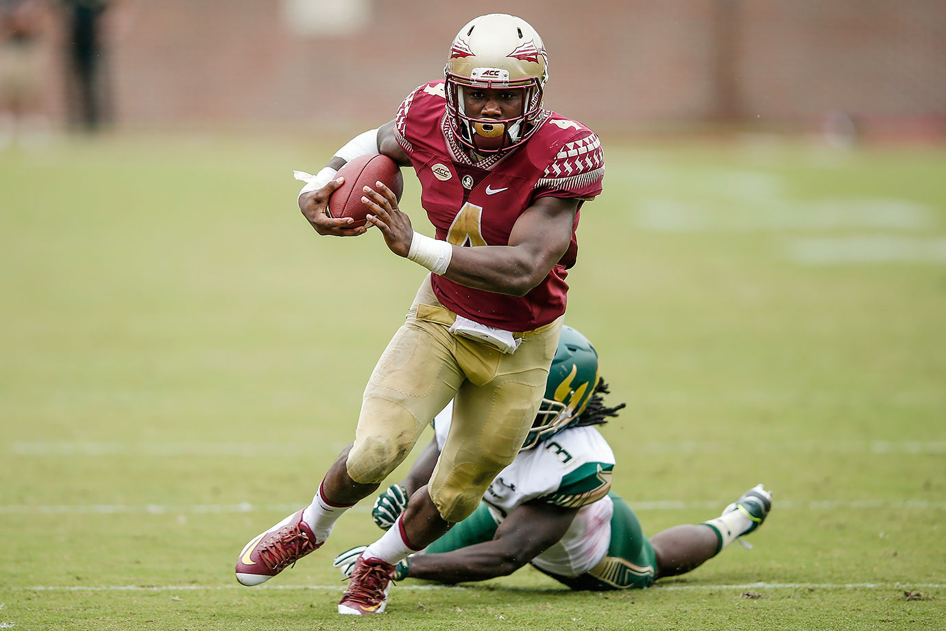 Cook set Florida State record for rushing yards and all-purpose yards in a season en route to first-team All-ACC honors. After finishing seventh in the 2015 Heisman Trophy voting, he'll be on the short list to win the award next season.