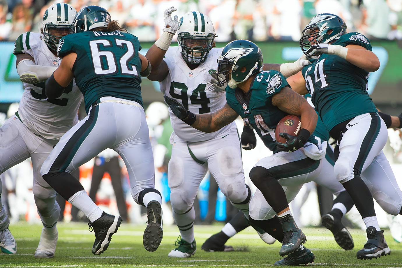 2015 Team: New York Jets — 2016 Team: New York Giants