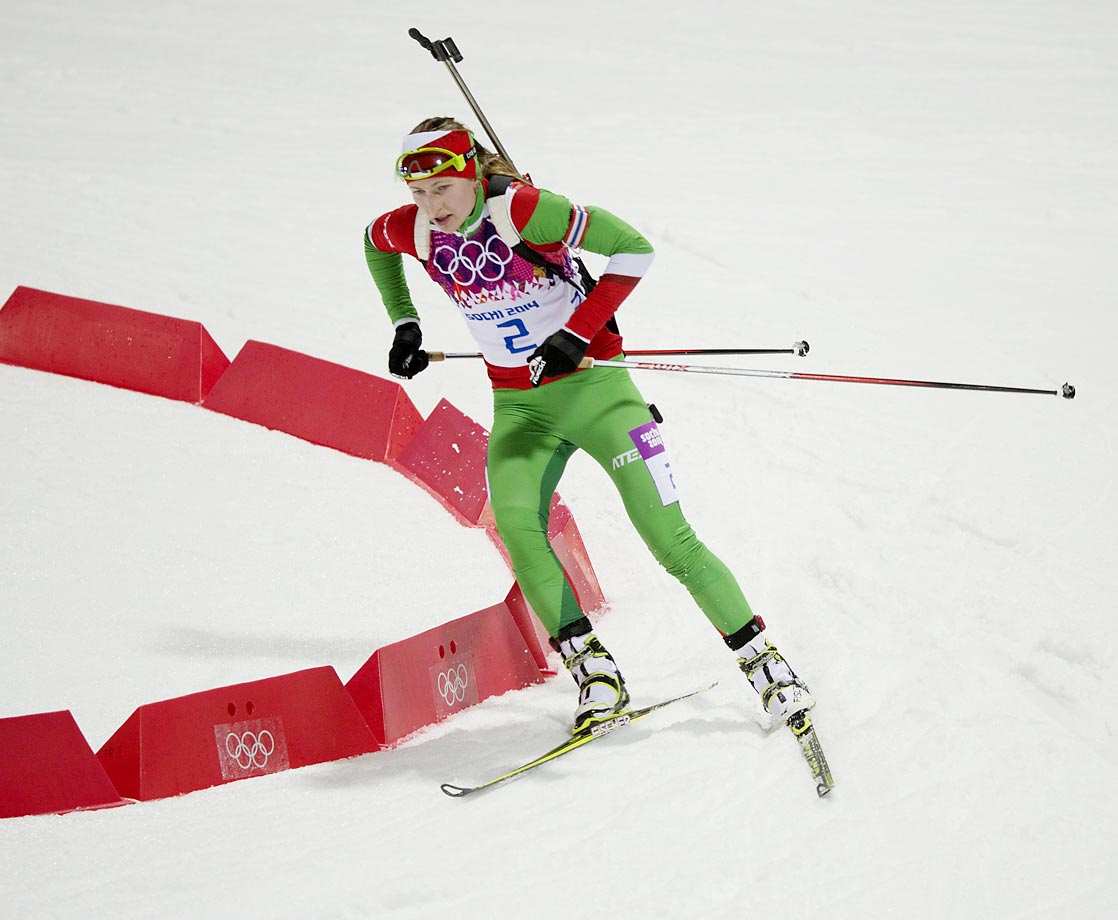 "Age: 28 | Height: 5'6"" | Weight: 123 lbs. | Biathlon"