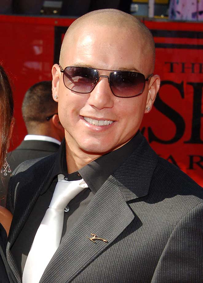 Dave Mirra during the 2005 ESPY Awards arrivals.