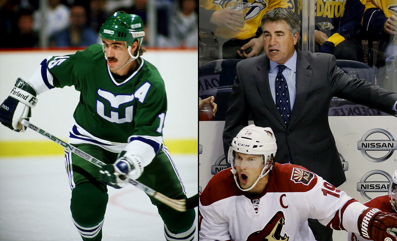 Tippett starred in junior (Prince Albert) and college (North Dakota) hockey before being named captain of Team Canada for the 1984 Winter Olympics. Undrafted, he signed with the Whalers after the Games and spent 10 seasons in the NHL as a dependable, hard working two-way winger. Through seven seasons as head coach of the Arizona Coyotes, Tippett is 252-215-73.
