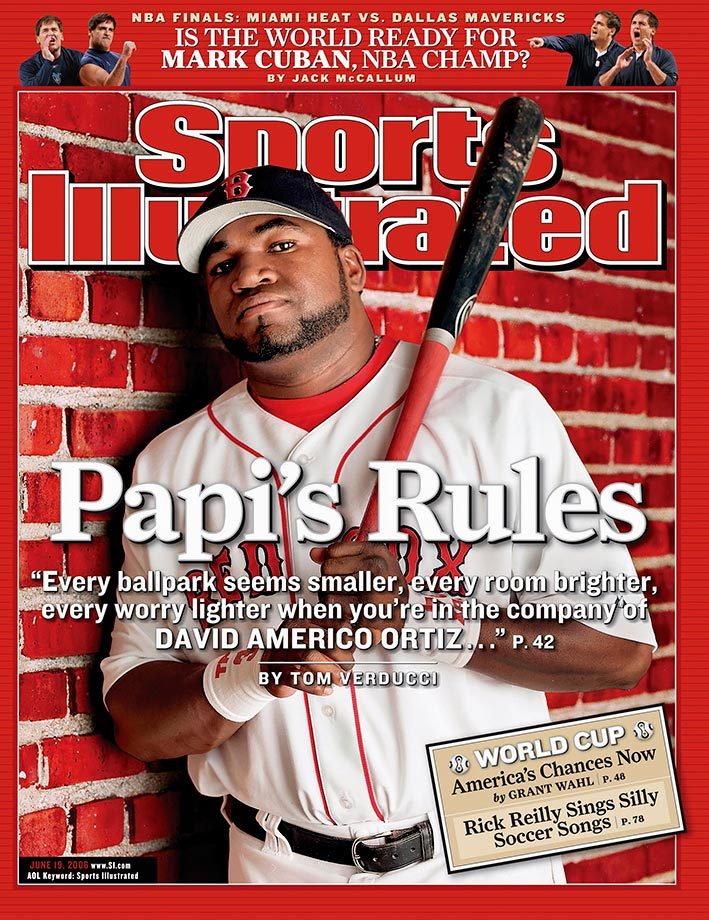 Through 20 seasons, David Ortiz has consistently produced at the plate, hitting .300 or better seven times, crushing 30 or more home runs while driving in more than 100 runs 10 times. When Big Papi seemed to be fading with two straight seasons of declining batting average in 2008 and 2009, he responded with an active streak of three straight years of improvement, including a .318 batting average in 2012. Ortiz, a 10-time All Star and six-time Silver Slugger Award winner, was the World Series MVP in 2013, after hitting .688 with two home runs and six RBIs in the Fall Classic against the Cardinals.