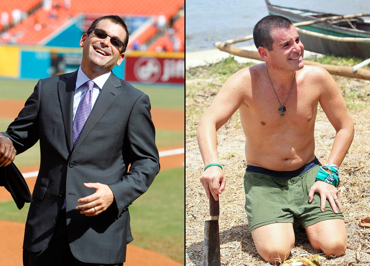 "The President of the Miami Marlins was the first person voted out on ""Survivor: Cagayan."""