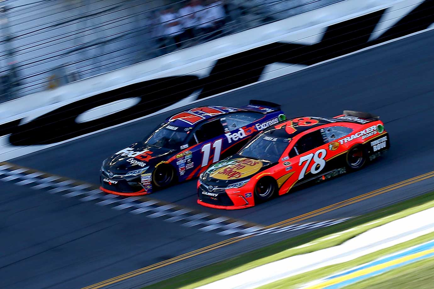Led by Denny Hamlin, Toyota's took first, third and fifth in this year's Daytona 500.
