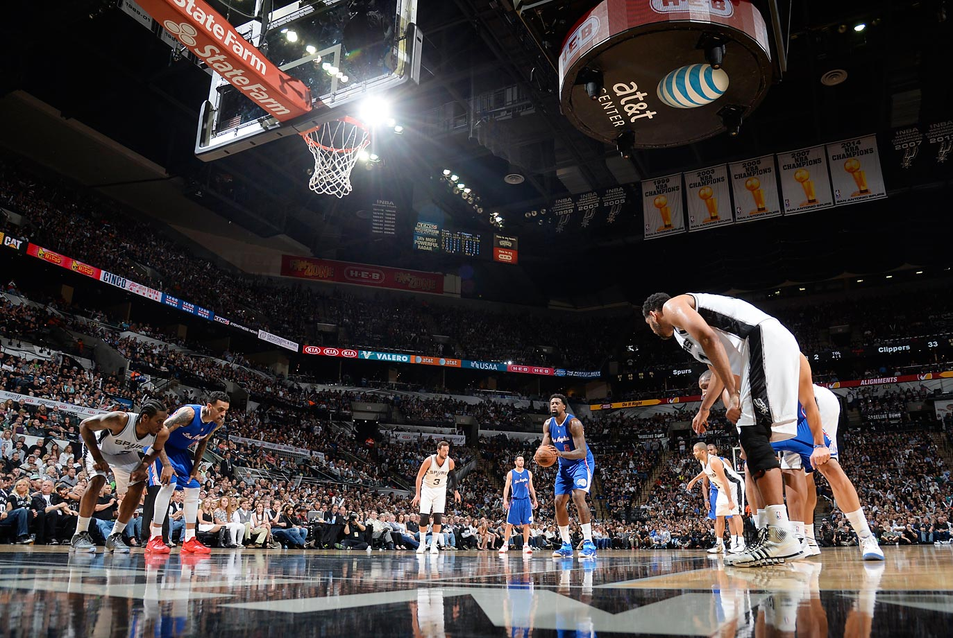 April 30, 2015 against the San Antonio Spurs.