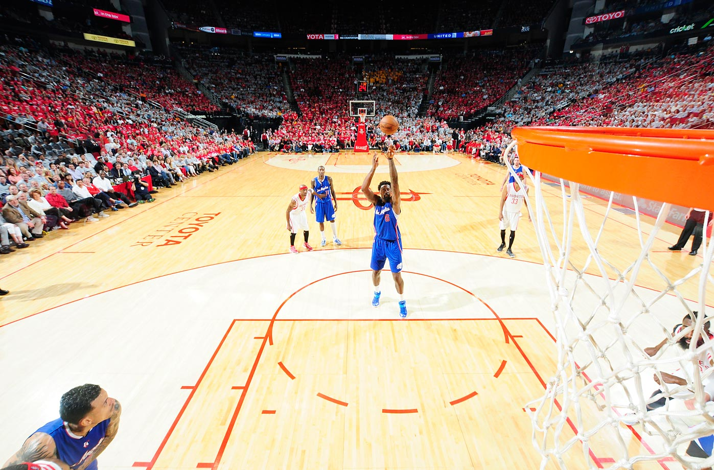 May 4, 2015 against the Houston Rockets.