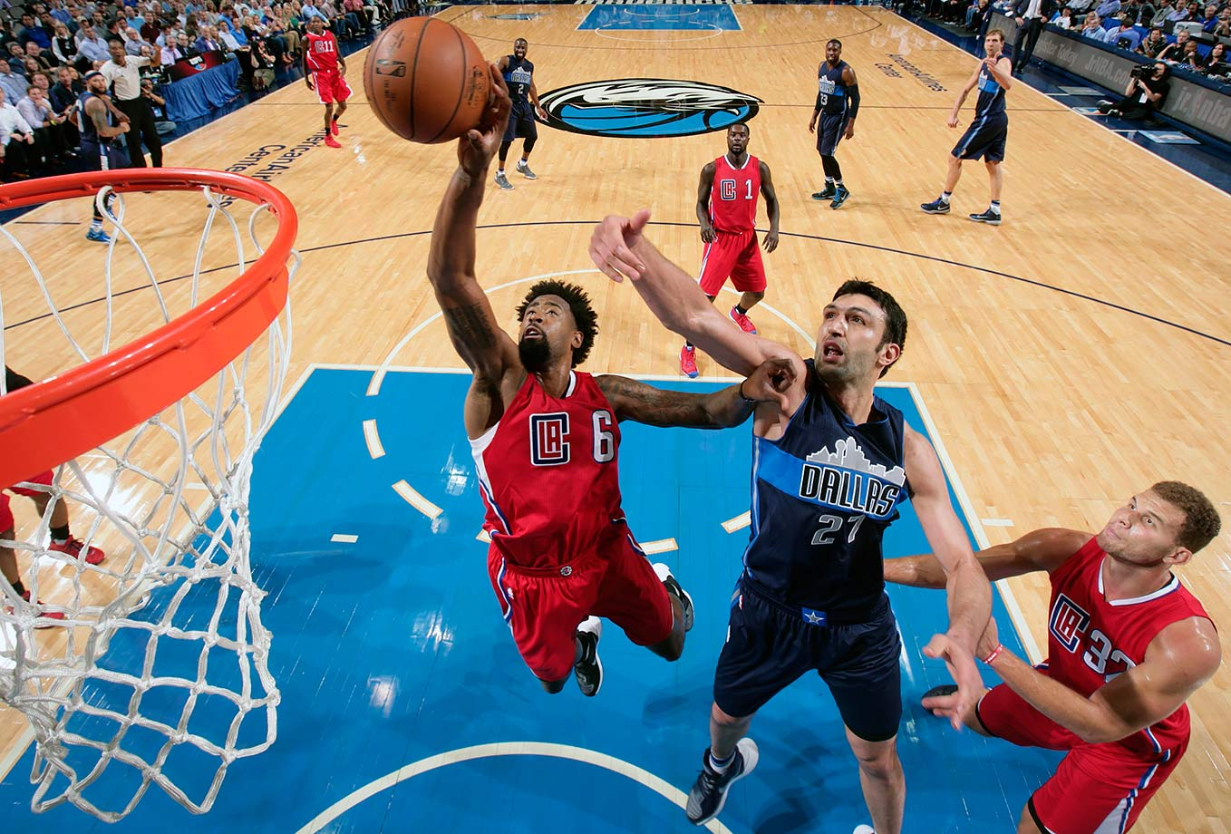 Congratulations to DeAndre Jordan for finding the best way to make sure everyone in the nation's fifth-largest media market hates your guts forever. Jordan verbally agreed to join the Mavericks before deciding he actually wanted to stay with the Clippers. Now the Mavs start Zaza Pachulia at center.