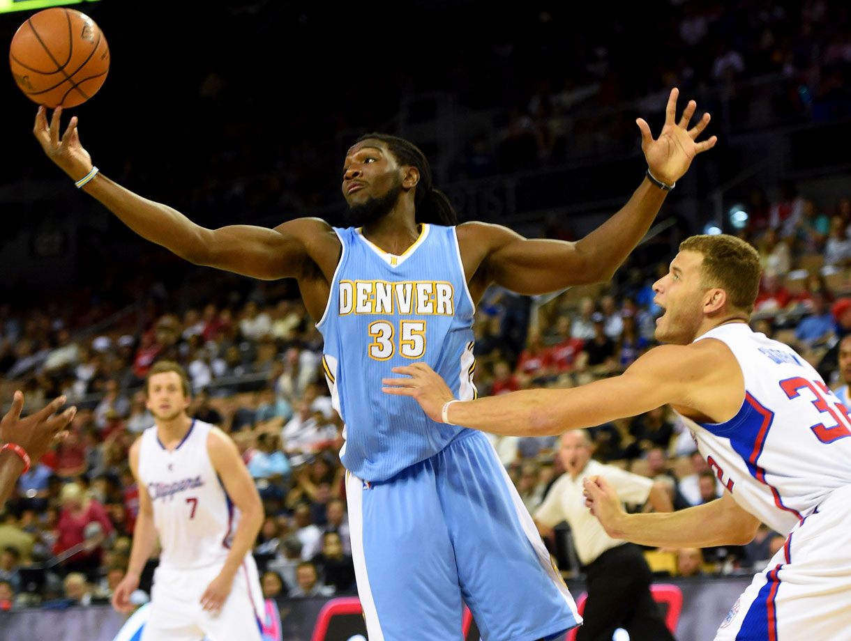Kenneth Faried's great summer means little in the ultra-competitive West.