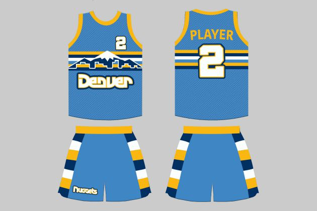 new arrival 1b277 dcf59 NBA fan designs retro-inspired uniforms for teams | SI.com