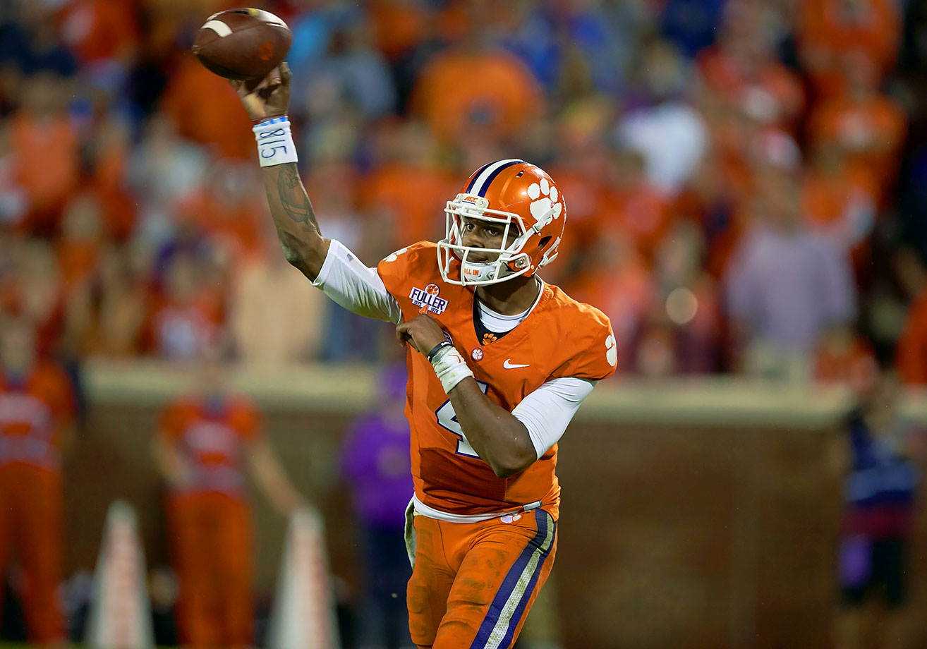 The reigning ACC player of the year returns for his junior season after leading the Tigers to a 14–1 record and a national championship game appearance last season. Watson has his sights set on surpassing what he accomplished last season, meaning taking home the Heisman Trophy and a national championship.