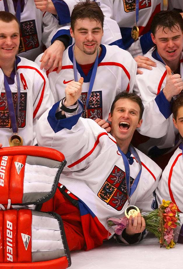 The Dominator was so impressive in leading the Czech Republic to an Olympic gold medal in Nagano in 1998 that a pair of astronomers named a main belt asteroid after him in 2003 -- 8217 Dominikhašek. The Czechs defeated Russia 1-0 in the final and Canada 2-1 in a semifinal that saw Hasek stop all five penalty shots in a sudden death overtime shootout.