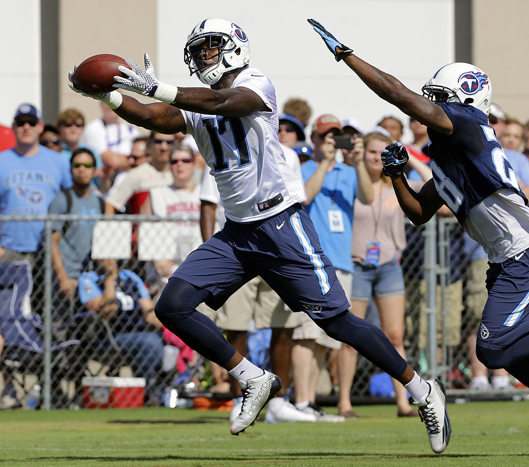 There's no doubting Green-Beckham's natural talent. If he didn't run into trouble in college, he likely would have been a first-round pick. The Titans don't have anyone standing in his way at receiver, so if he proves himself—he'll likely have to outplay Justin Hunter, since their skills are redundant—he could have a big role in the passing game