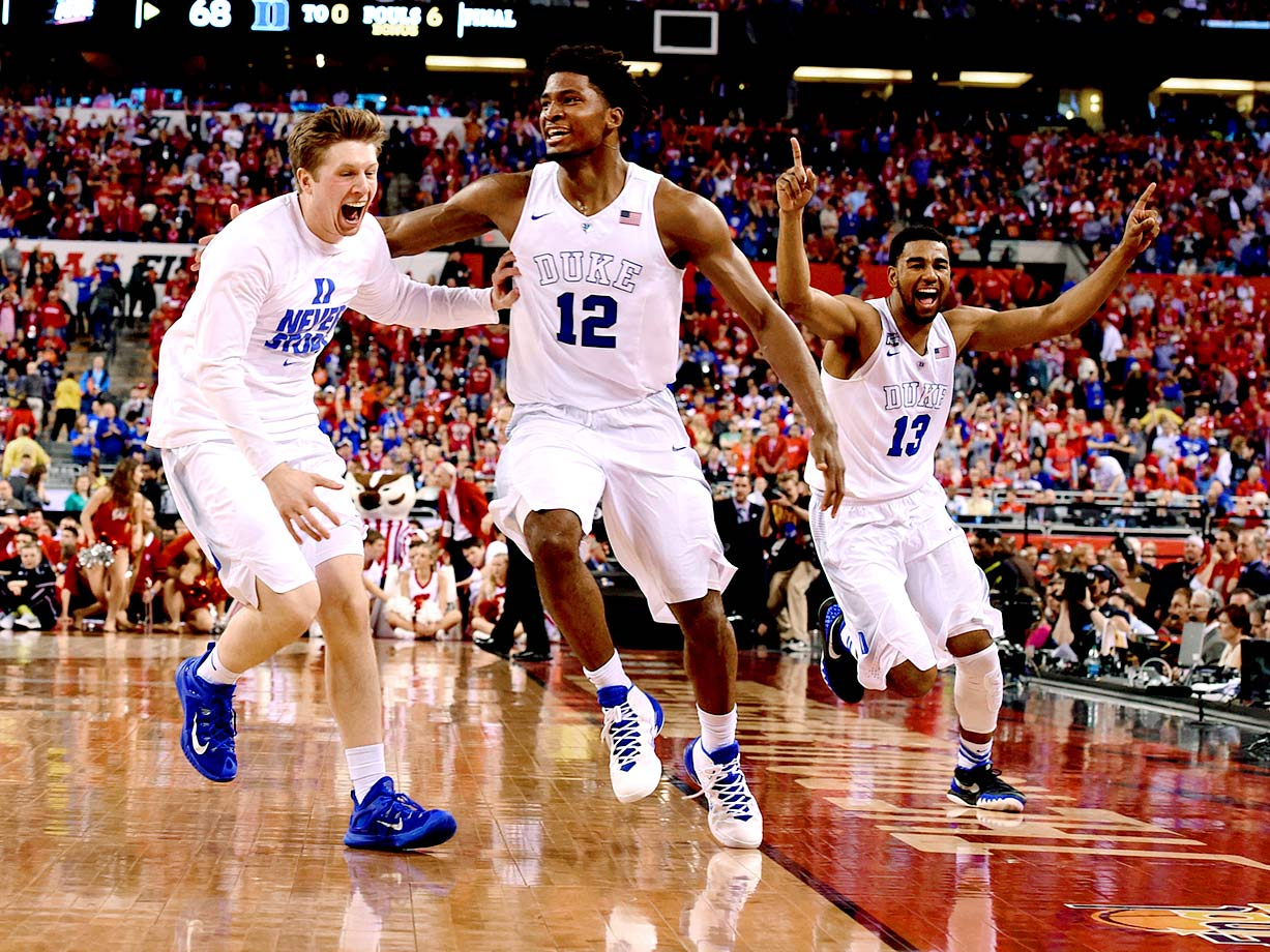 Duke won its fifth national title in college basketball with a 68-63 victory over Wisconsin on April 6 in Indianapolis. Here are SI's best photos of the game.