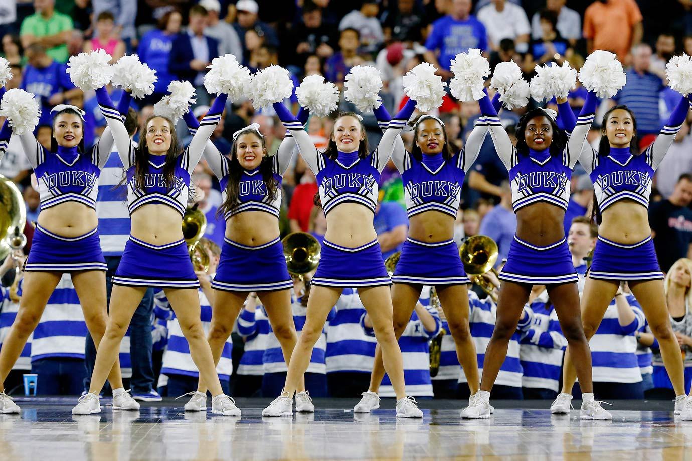 Final Four Cheerleaders | SI.com