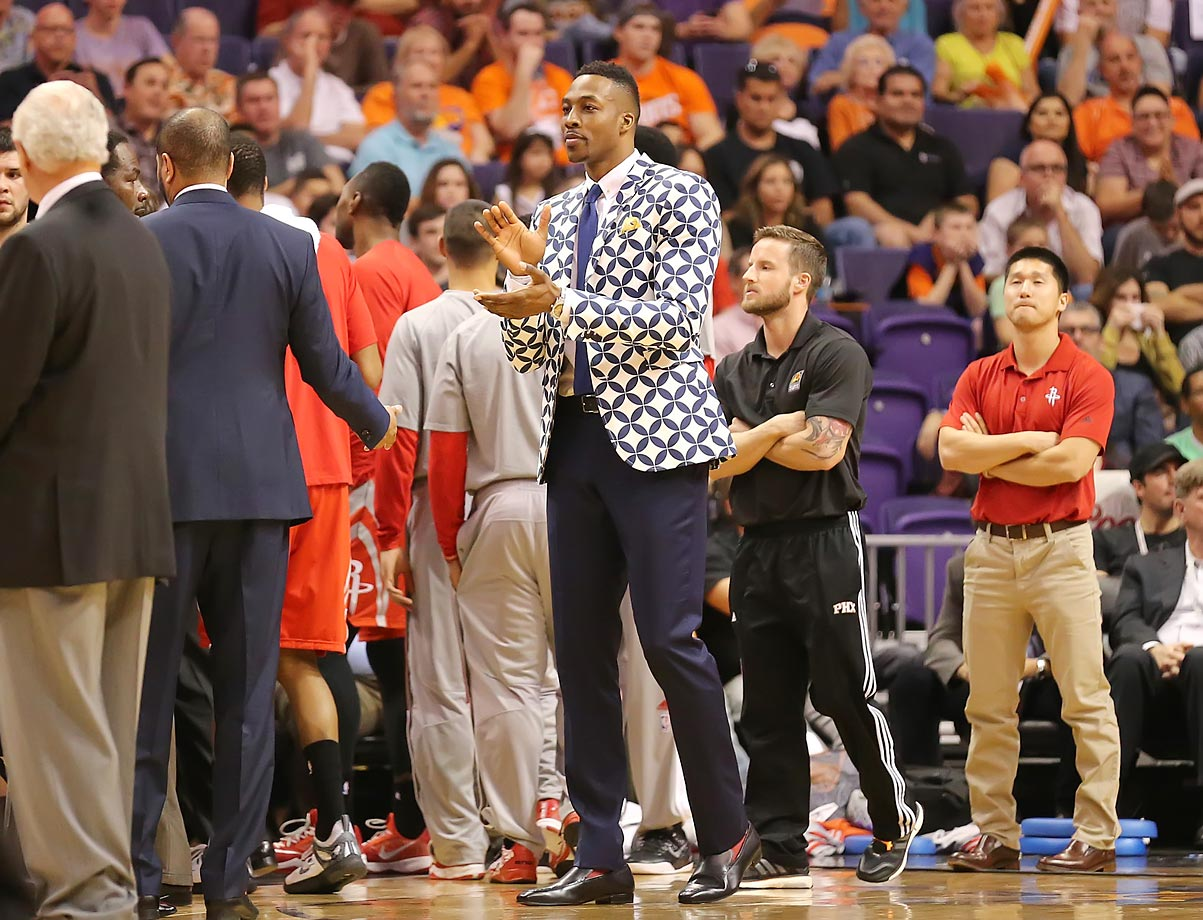 Dwight Howard pulled out all the stops with this jacket.