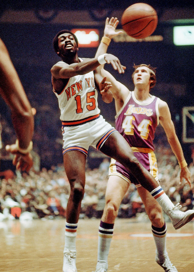 Dervishing, double-pumping, almost mummer-strutting, Earl the Pearl had a spin-dribble style never seen before or duplicated since.   When he turned his back on an opponent, he would win over the crowd.