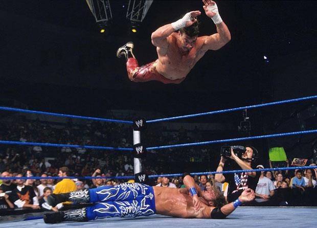 Eddie Guerrero and Edge :: Courtesy of WWE