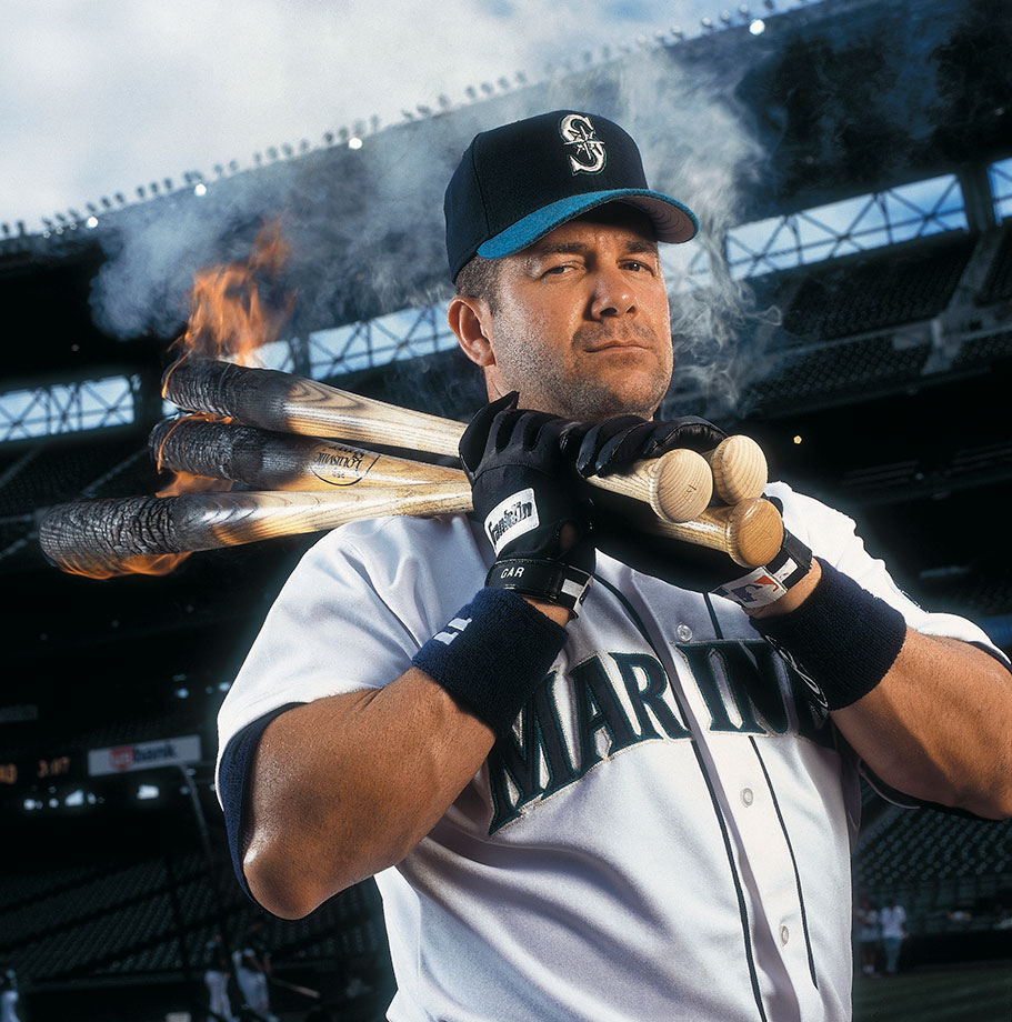 Clearly the best designated hitter of all time has to be the guy after which the award for the best DH is now named. A torn hamstring in 1993 forced Edgar Martinez into the DH full-time but certainly didn't derail his career. Martinez won the batting title in 1995 as a DH, hitting .356, and belted more than 25 home runs in five seasons. His career numbers of .312 batting average, 309 home runs, 1,261 RBI and .933 OPS demonstrate the consistent threat Martinez provided in the Mariners' batting order.