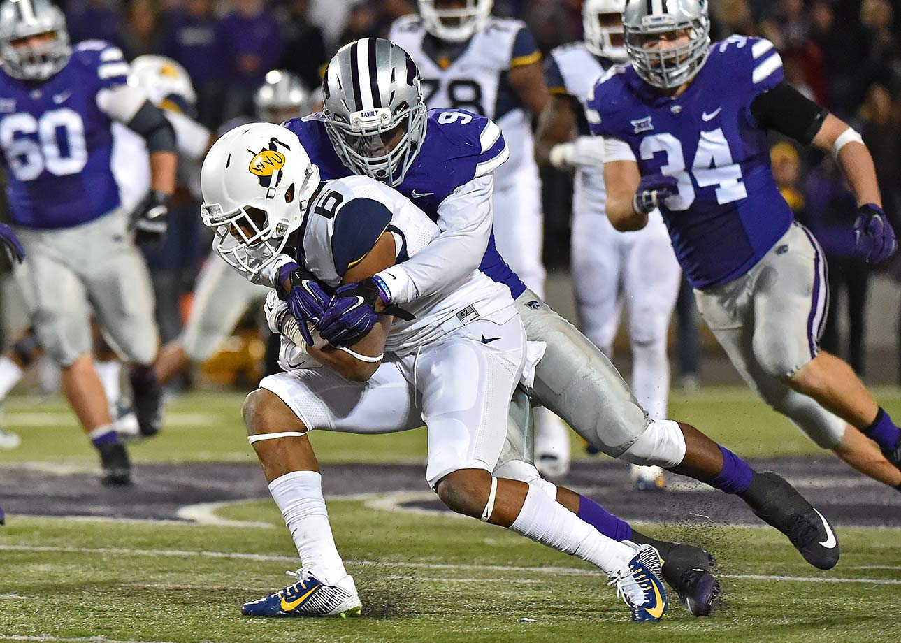 Elijah Lee was the foundation of Kansas State's defense last season, recording 80 total tackles, 25 more than the next highest on the team. Lee's performance—he added five sacks and three interceptions as well—earned him a second-team All-Big 12 selection.
