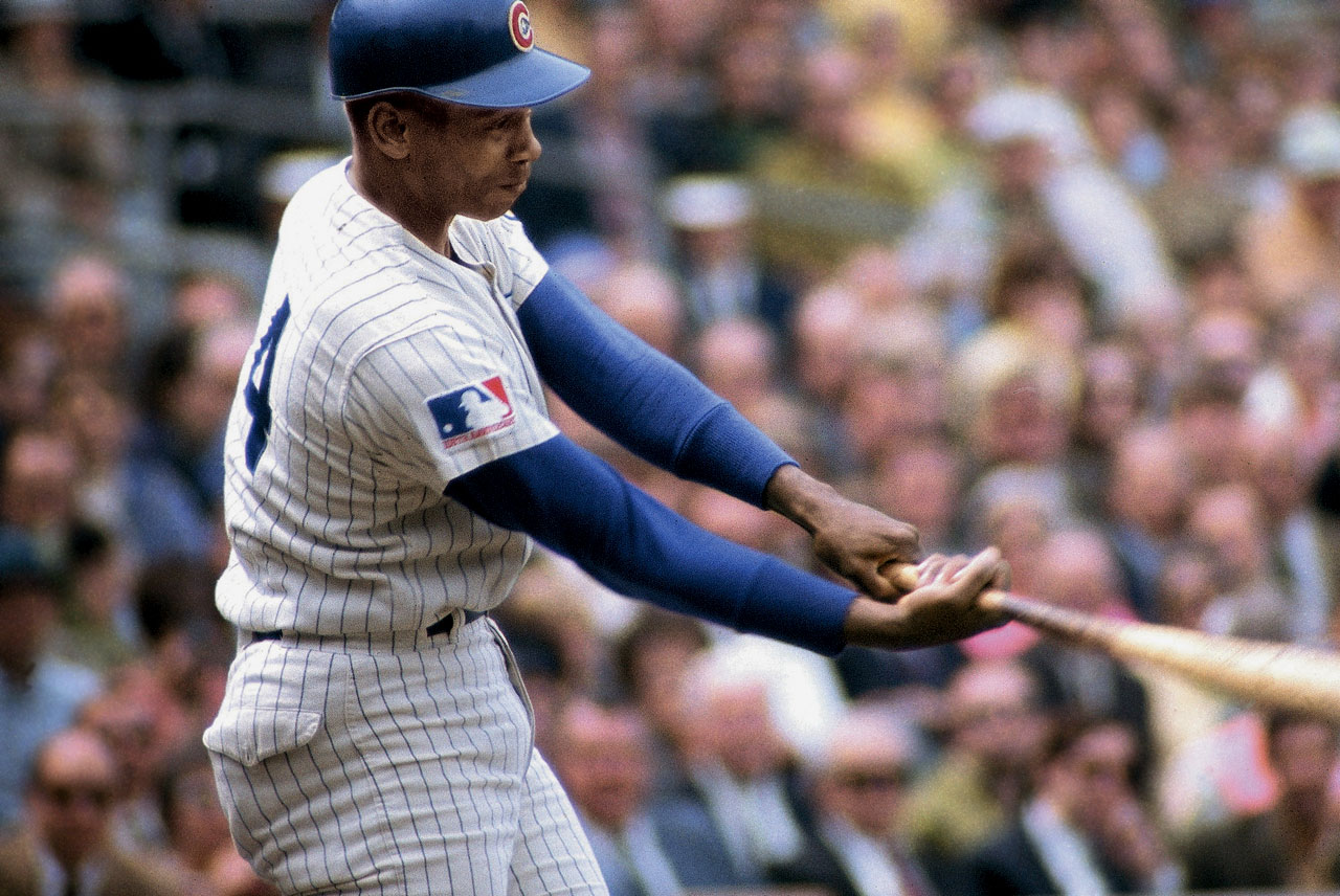 Mr. Cub topped the 40-homer mark five times while playing shortstop. He became the ninth member of the club on May 12, 1970, in Chicago with a solo homer off Atlanta's Pat Jarvis.