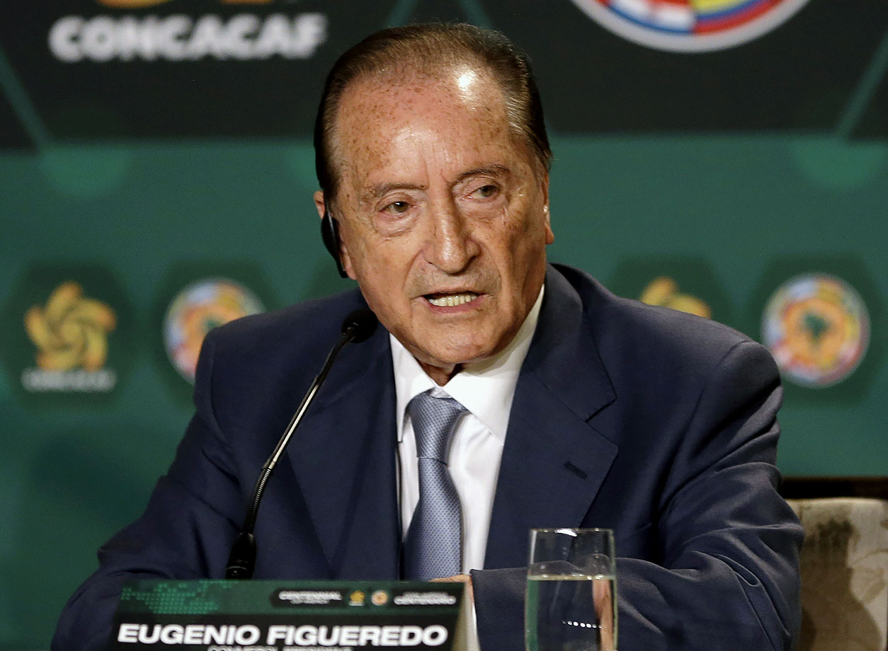 Ex–Uruguay federation and CONMEBOL president; FIFA Vice President