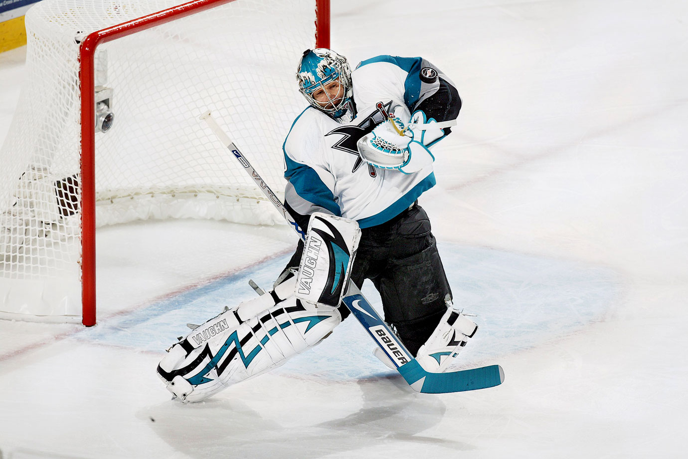 Evengi Nabokov retired from the NHL as a member of the organization that drafted him more than two decades early. The goalie called it quits Feb. 11, two days after being traded to the San Jose Sharks, the team for which he played 10 of his 14 seasons. Nabokov holds the Sharks' franchise records for wins (293) and shutouts (50) and helped San Jose to the playoffs in all but one of his seasons there.